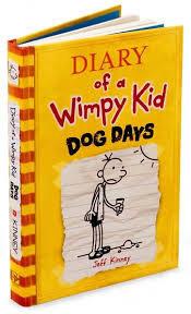 Diary of a wimpy kid 1 book report